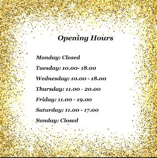 Opening Hours at NewLookFX