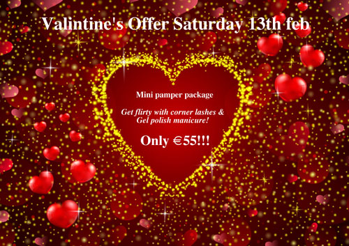 Valentines Beauty Offer