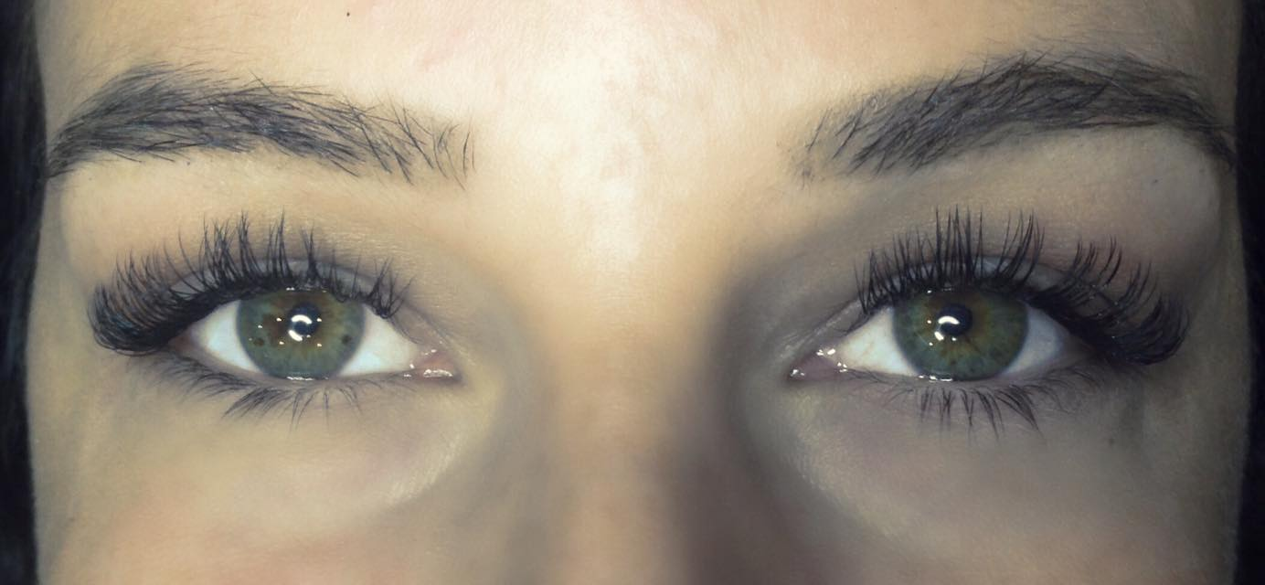 What a DIFFERENCE Eyelash Extensions can make!